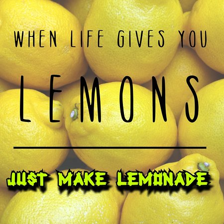 Maje Lemonade and sell it