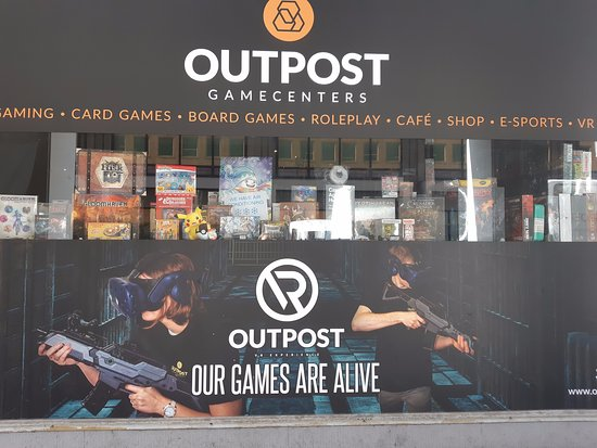 Outpost Gamecenter Antwerp