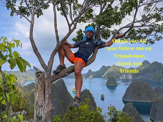 West Papua, Indonesië: thank you All you follow me on Tripadvisor, thank you friends
