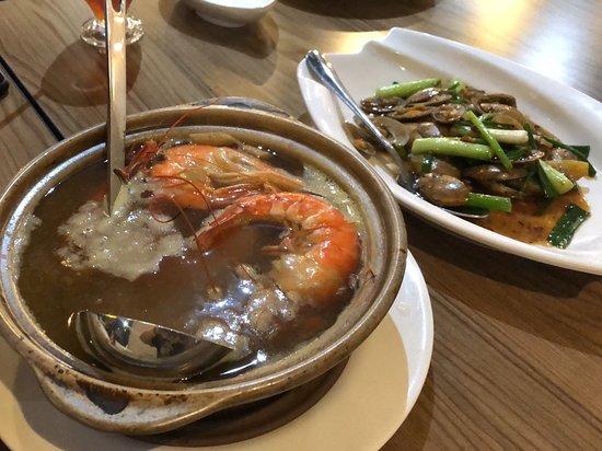 Crab beehoon soup!!