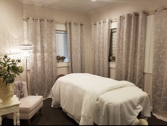 The Lavender Room in Harbor Springs. Did you know we exclusively use locally grown Lavender essential oil from Lavender Hill Farm in our body wraps , products and massage lotions.