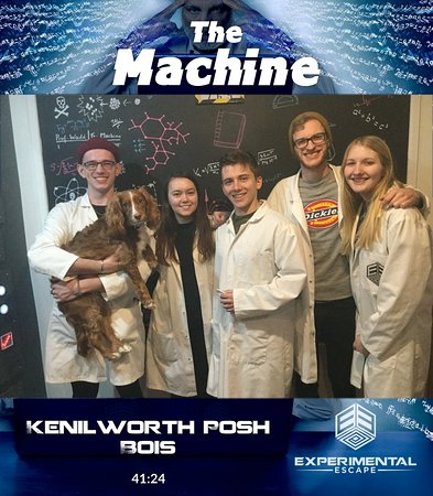 A Fun First Experience of an Escape Room