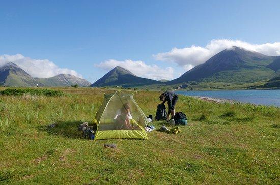 Camping near Torrin at Loch Slapin
