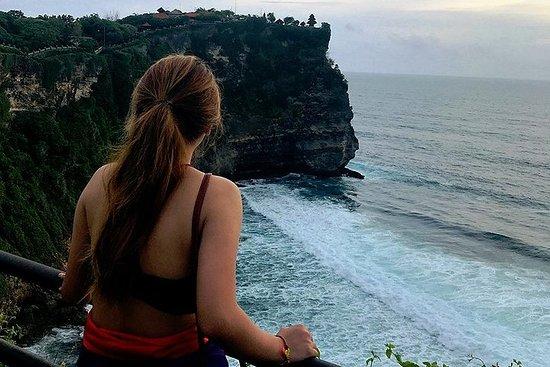 海神庙,绿碗海滩和乌鲁瓦图日落