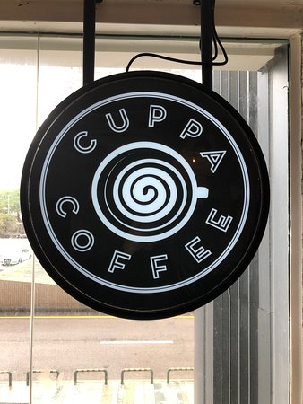 CuppaCoffee - sign
