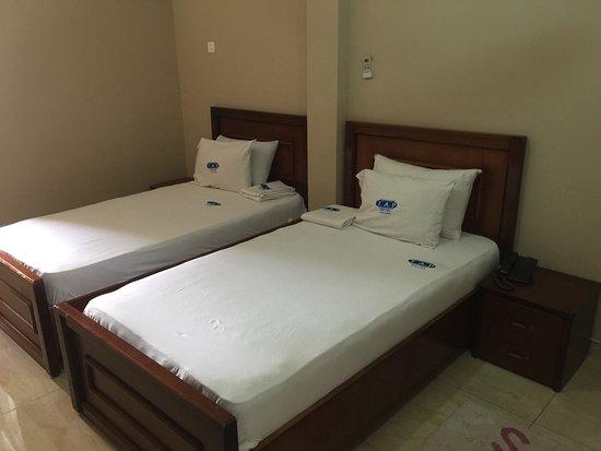 Bolgatanga, กานา: Twin Bed