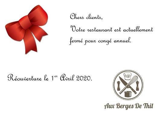 Thil-sur-Arroux, Francia: Congé annuel
