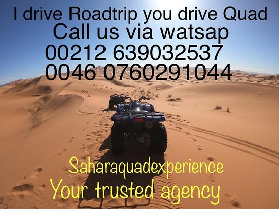 Sahara ATV Quad Experience