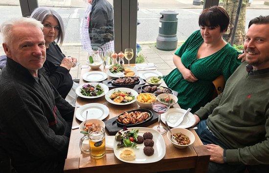 Redbridge, UK: Healthy meal