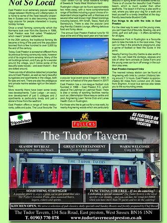 A nice little write up not only for the Tudor tavern but for the local community