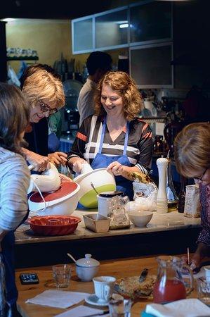 Aquilea, Italija: cooking class-having fun!