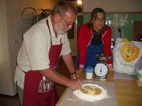 Aquilea, Italija: teaching home made pasta