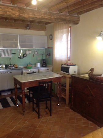 separate studio-kitchenette