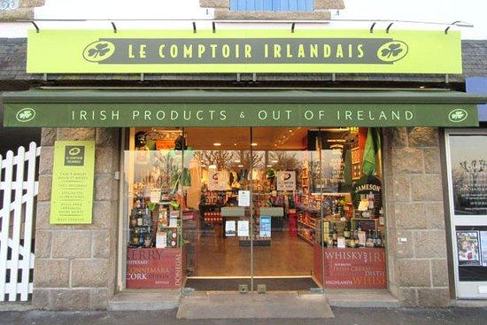 La Trinite-sur-Mer, France : Le Comptoir Irlandais de La Trinité-Sur-Mer vous accueille au cœur de l'Irlande et des produits celtes à travers sa cave, sa collection textile, son épicerie et ses accessoires pour la maison !