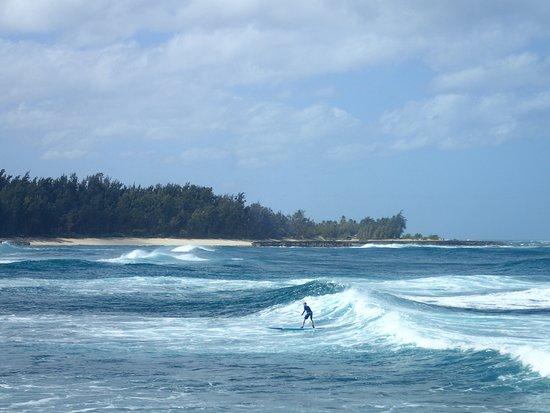 Owen's first surf lesson!