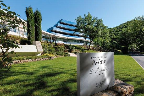 Eau thermale Avene, l'hotel