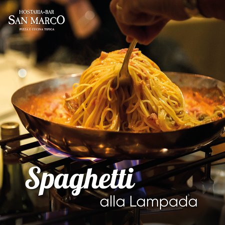 Agno, Швейцария: Spaghetti alla Lampada