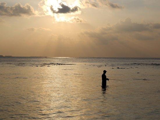 Ukulhas: Sunset @ Ukulas Island