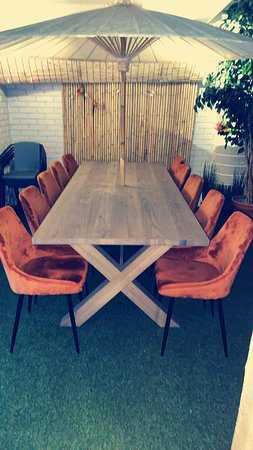 Our ThaiLounge just got a little upgrade with a new table and more chairs. Ready for Lovely visitors. :)