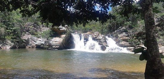 Sobre a cachoeira...