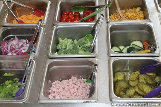 Trade, TN : Fresh ingredients everyday at the Salad Bar