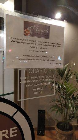 Viguzzolo, Italië: orari