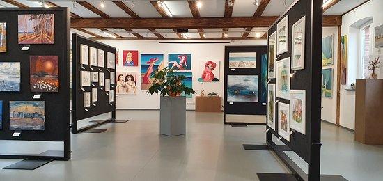 Barth, Tyskland: Die Galerie kunstvoll in der Saison 2020.