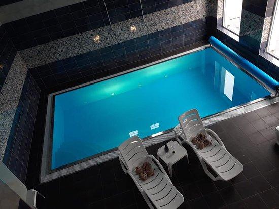Sumavske Hostice, Czech Republic: Bazén se slanou vodou pro Vaši ideální dovolenou a maximální relax.