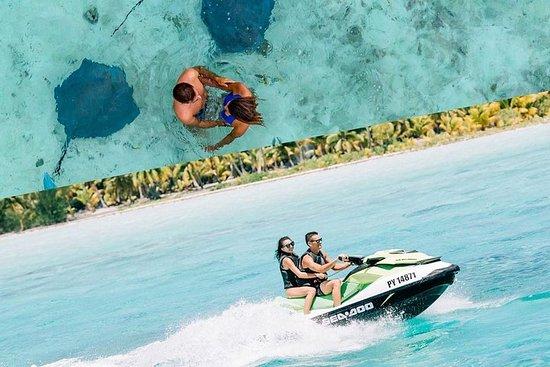 Excursão de jet ski em Bora Bora...