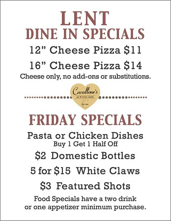 Minooka, IL: Friday Specials