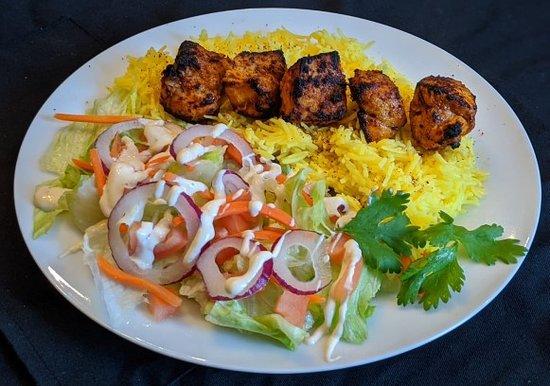 Halal Chicken Tikka Platter
