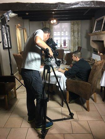 Issoncourt, France: tournage émission culinaire pour la tv