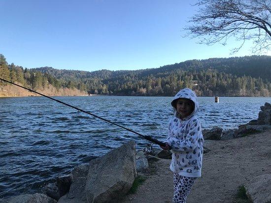 Twin Peaks, Californie: Nearby lake
