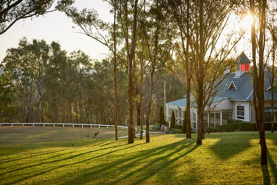 Lovedale, Austrálie: Pavilion and Cricket oval