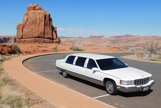 Tour in limousine dello Utah Mighty 5