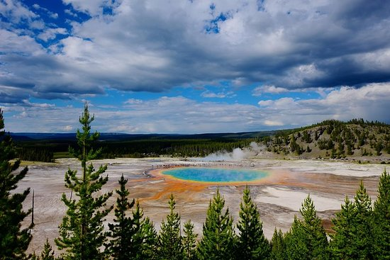 Private Tour of Yellowstone's Geysers, Hot Springs...
