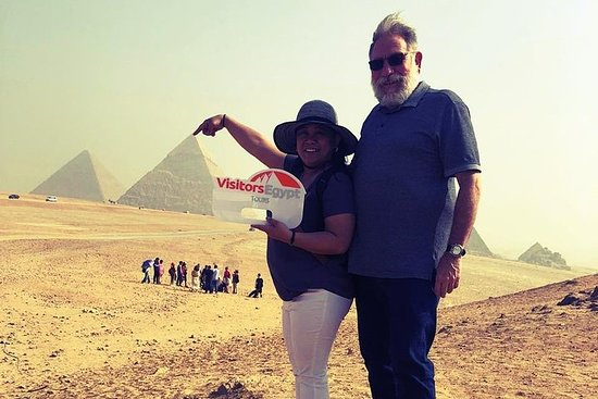 Visit Giza Pyramids and Sphinx in a...