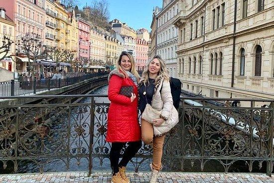 Karlovy Vary och Moser Glass Factory ...