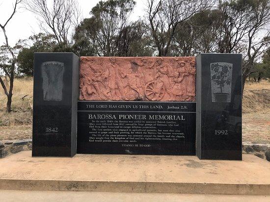 Barossa Pioneer Monument