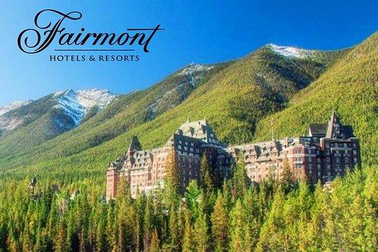 Fairmont 5D Tour-Banff, Jasper & Yoho nasjonalpark fra Calgary...