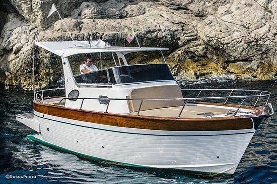卡普里島私人之旅-25英尺船