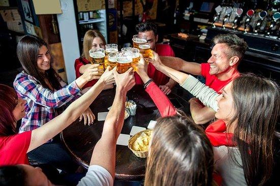 3小時布拉迪斯拉發酒吧爬行之旅與啤酒和小吃