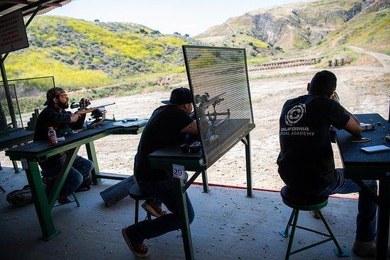Unik pistolskytteupplevelse Los Angeles