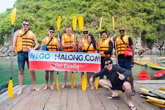 Cruzeiro de 6 horas na Baía de Halong...