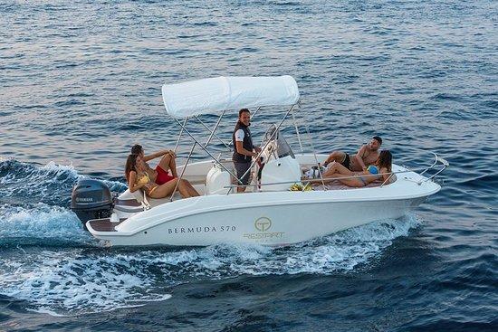 卡普里島和波西塔諾智能私人遊艇-18英尺船