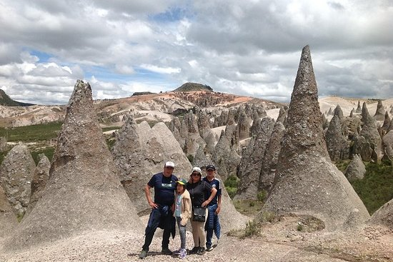 the stone forest and the smurfs house