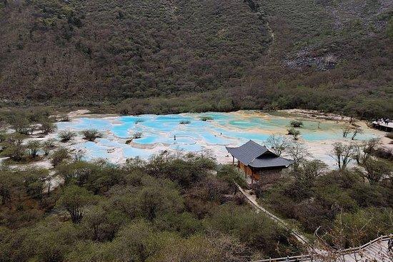 Visite de Jiuzhaigou Huanglong (4...