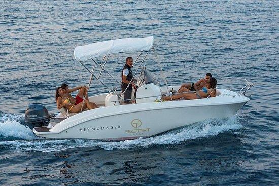 卡普里島私人之旅-18英尺船