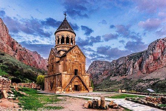 亞美尼亞一日遊。 Khor Virap,諾拉萬克,阿雷尼洞穴,欣阿雷尼酒莊
