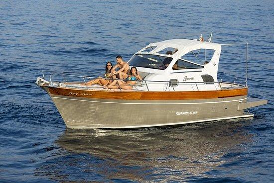 波西塔諾和阿馬爾菲私人之旅-30英尺船